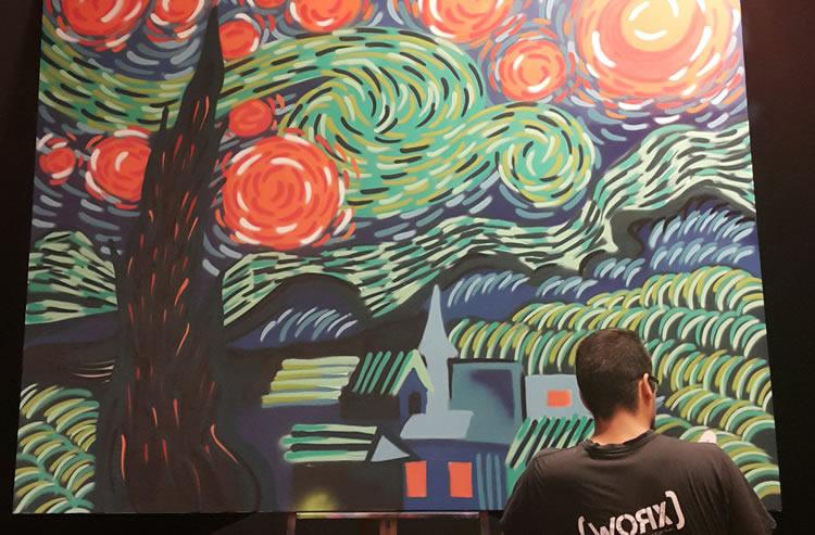 Meeting Van Gogh